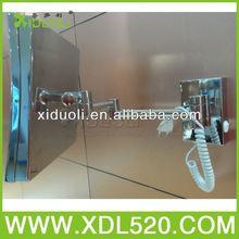 cosmetics accessories mirror/visor mirror/chrome cosmetic mirror