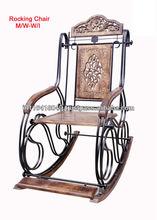 L'artisanat en bois à bascule chaise pliante
