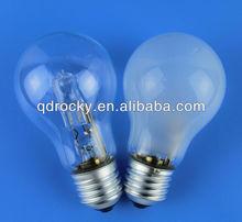 a60 e27 eco halogen lamp 28w 52w 70w 6v 12v 220v