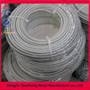 galvanised plastic coated 7x7 steel wire cable for clothline