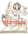 maa ambaji hindou statues de marbre