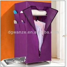 Folding I shape wardrobe for sliding