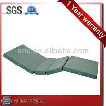 Hot sale medical foldable foam waterproof mattress firm