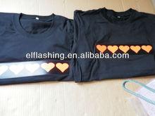 el t-shirt design for lovers
