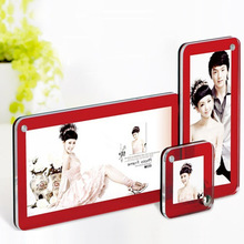 many size home decoration plexiglass photo frame