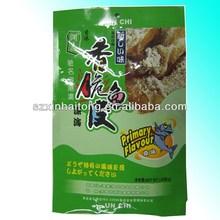 Food Class Euro Hole Aluminum Foil heat seal fish packaging bag