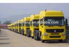 chassis semi trailer sinotruk 420hp 10 Wheels Howo Tractor Truck