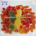 diferentes tipos de frutas secas