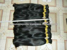 Indian Extension de cheveux humains En vrac