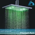 plaza de cuarto de baño de la lluvia de luz led cabezal de ducha