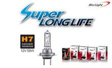 Halogen bulbs for car