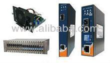 ORING Industrial Rack Mount / Fiber Media Converter