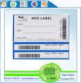 Express barcode-etikett-aufkleber gelten dem Versand
