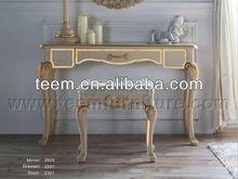 Kullanılan masif ahşap resepsiyon salonu resepsiyon ev mobilyaları ba-2403