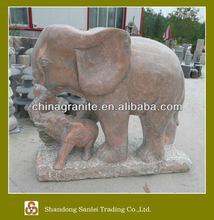 garden marble elephant sculptures