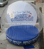 2013 hot sell Christmas inflatable snow globes / Xmas snow globes / Holiday large snow globe