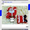 xmas gift usb flash drive , 32gb Santa Claus usb flash drive , bulk cheap usb flash drive christmas