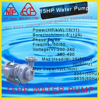 15 hp electric water pump