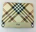 Hot Sell Babylon Style Pu Leather Case Cover with Leather for Apple the New Ipad
