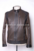 New Fashion Slim Faux Fur Leather Jacket Coat