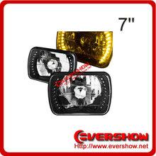 7inch Square car LED ring Fog light
