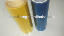 transparent colored plastic film