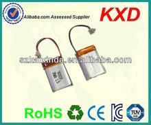 china ultra thin light weight li-polymer 3.7v 180mah battery