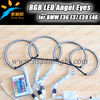 RGB LED Angel Eyes Multi Colors with high brightness, DC 12V for BMW E36 E38 E39 E46
