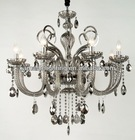 Classical smoke glass chandelier pendant lighting decoration