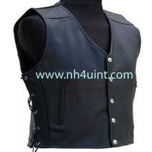 Leather Vest,Motorcycle Vest,Best Quality Fashion Man Leather Motorbike Vest