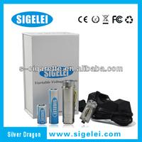 2013 Hot-Selling Brother e cig of Sigelei telescope e-cig&bagua--Sigelei Silver dragon e cigarette