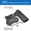 Cytac polymer hybrid hard case cover belt clip holster