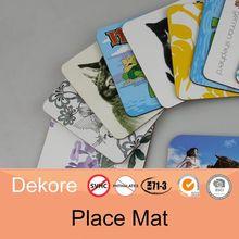 placemat kids plastic placemats heat resistant table placemats
