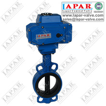 Nibco style Ductile Iron Butterfly Valves Motorized Butterfly valve