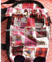 Travelling back holder pets dog backpack for carrying
