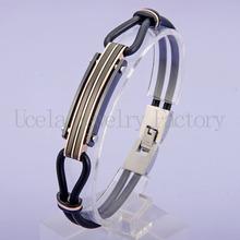 Handmade Crystal Ball Woven Leather Magnetic Bracelet Hot Sale Bracelet