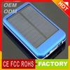 5000mah solar charger&powerbank 5000mah&mobile power bank(5000mah) for iphone ,ipad tablet pc