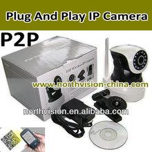 Plug and play camera surveillance ip