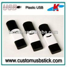 big capacity 1gb plastic flash memory