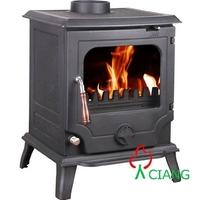 indoor freestanding fireplace mantel