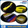 Wholesale cheap price silicone usb bracelet