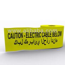 Underground Electrical Utility Marking Detection Warning Arabic UAE