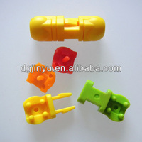Plastic Side Release Buckle, Rope Cord Lock for Garments