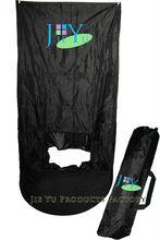 184 sticky feet pop up spray tanning curtain tent