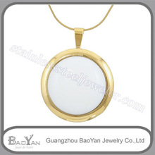 wholesale price stainless steel birthstone ring pendant