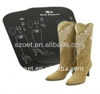 Boot support , plastic boot support , flatable boot support