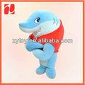 colgantes decorativos de peluche de felpa de juguete de tiburón en china de shenzhen oem