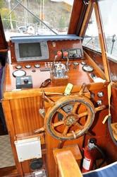 Luxury wooden Yacht