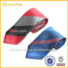 Cheap silk screen printing men tie necktie