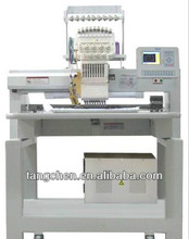 single head embroidery machine& machine embroidery